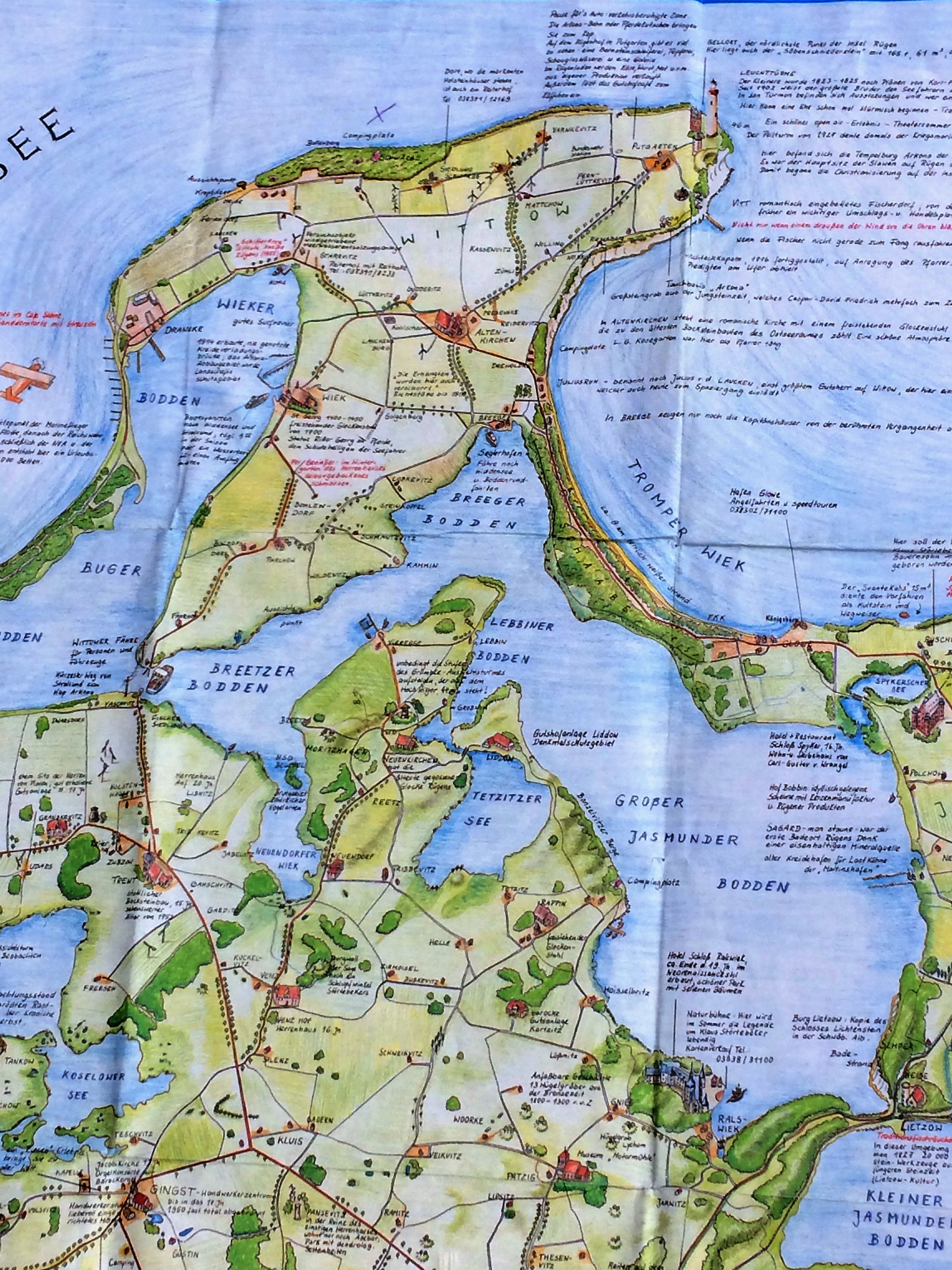 Rügen Karte.Rügen Karte Herausfinderin