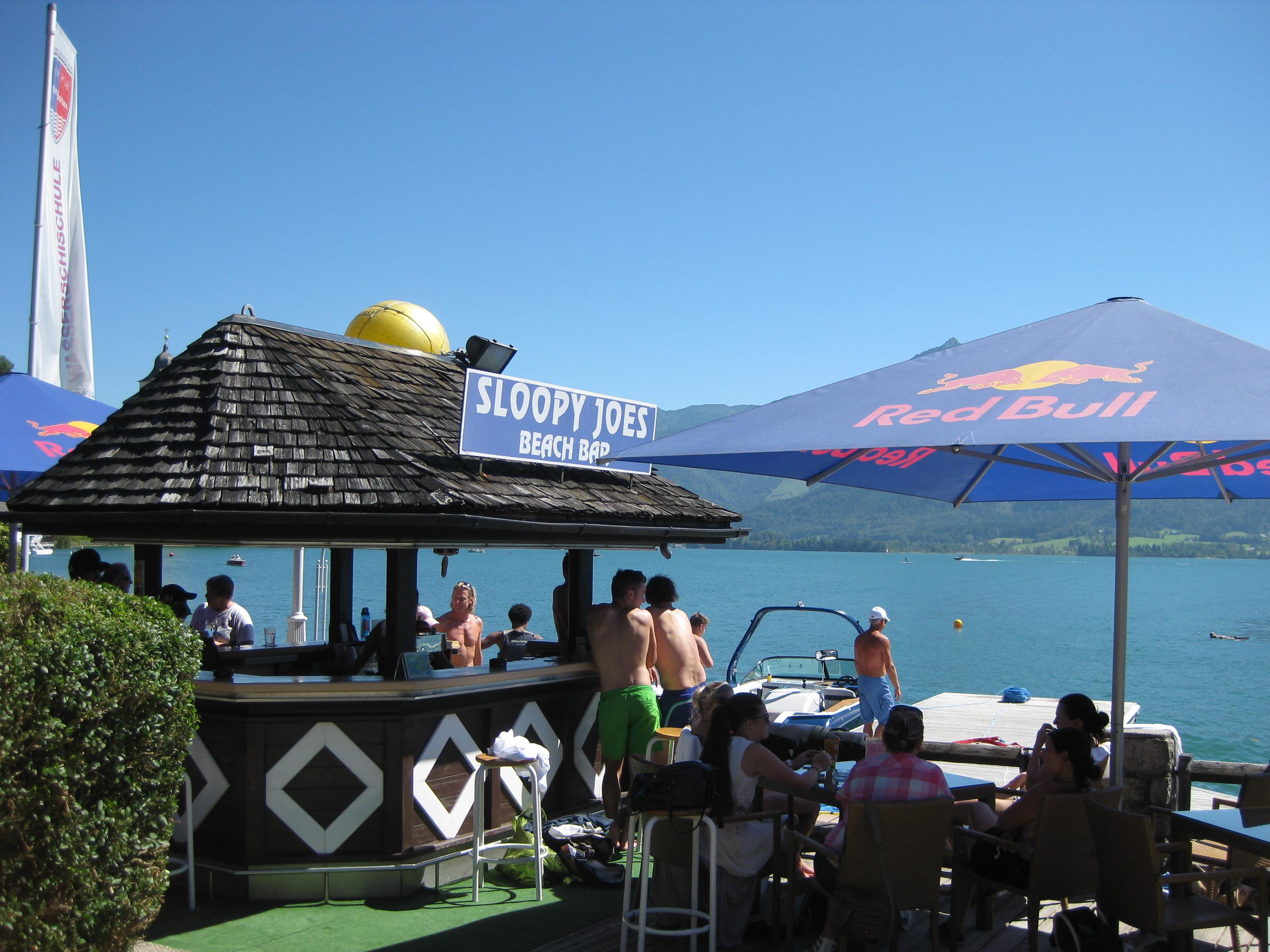 Sloppy Joe Beach Bar St. Wolfgang