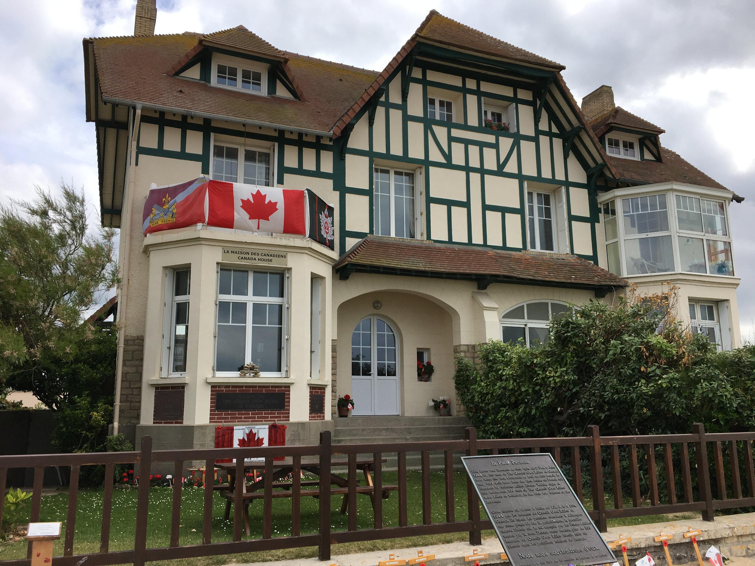 Normandie Landungsstrände Kanadahaus
