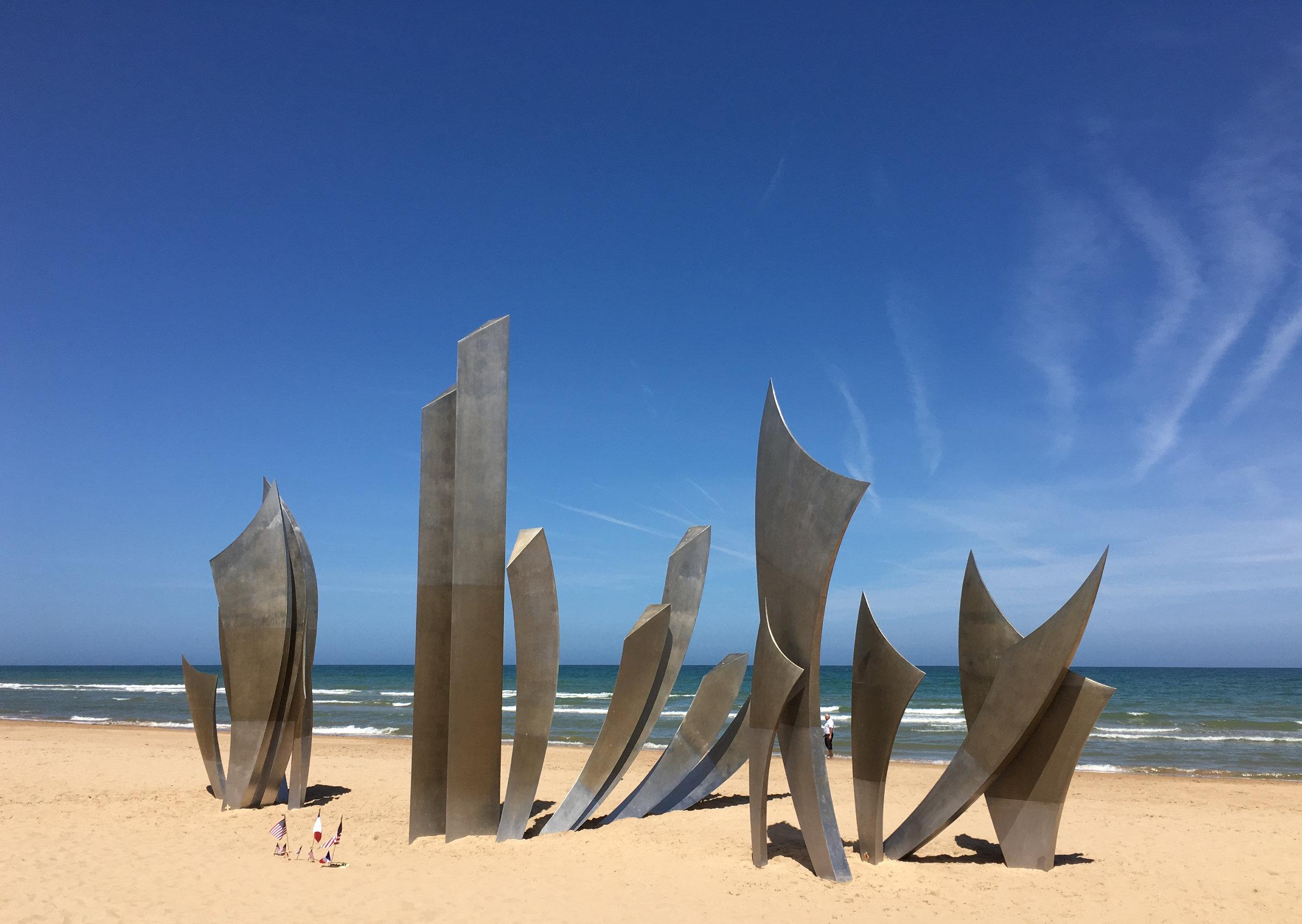 Normandie Omaha Beach les Braves