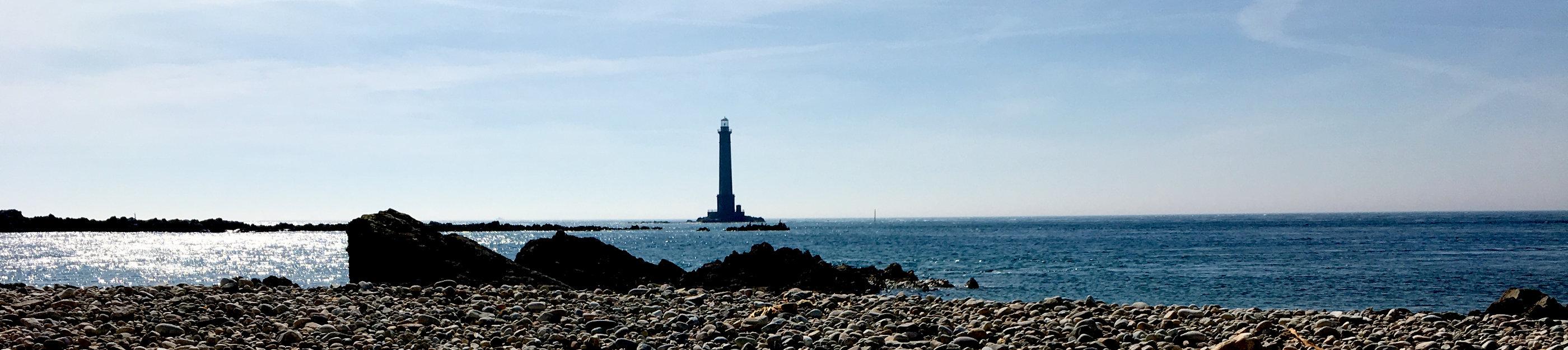 Leuchtturm in der Normandie