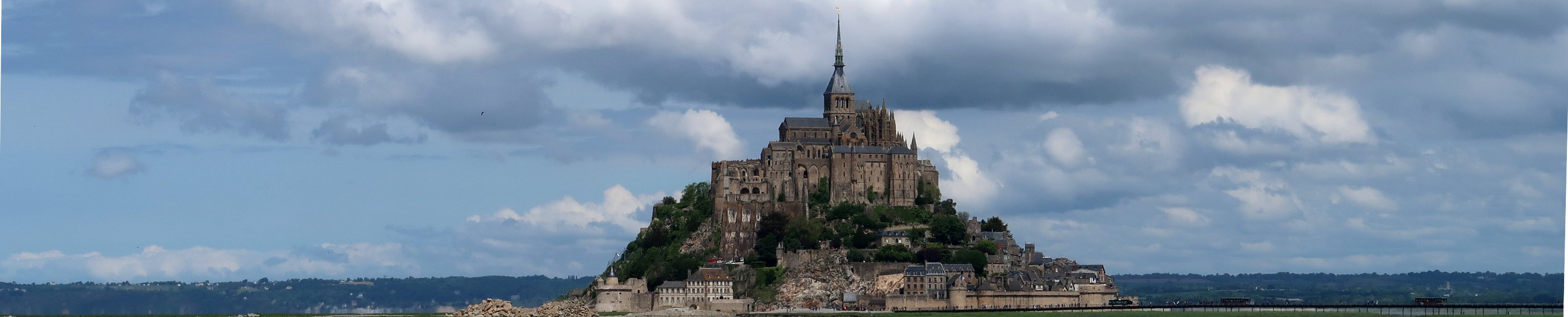 Mont Saint Michel Frankreich 2018