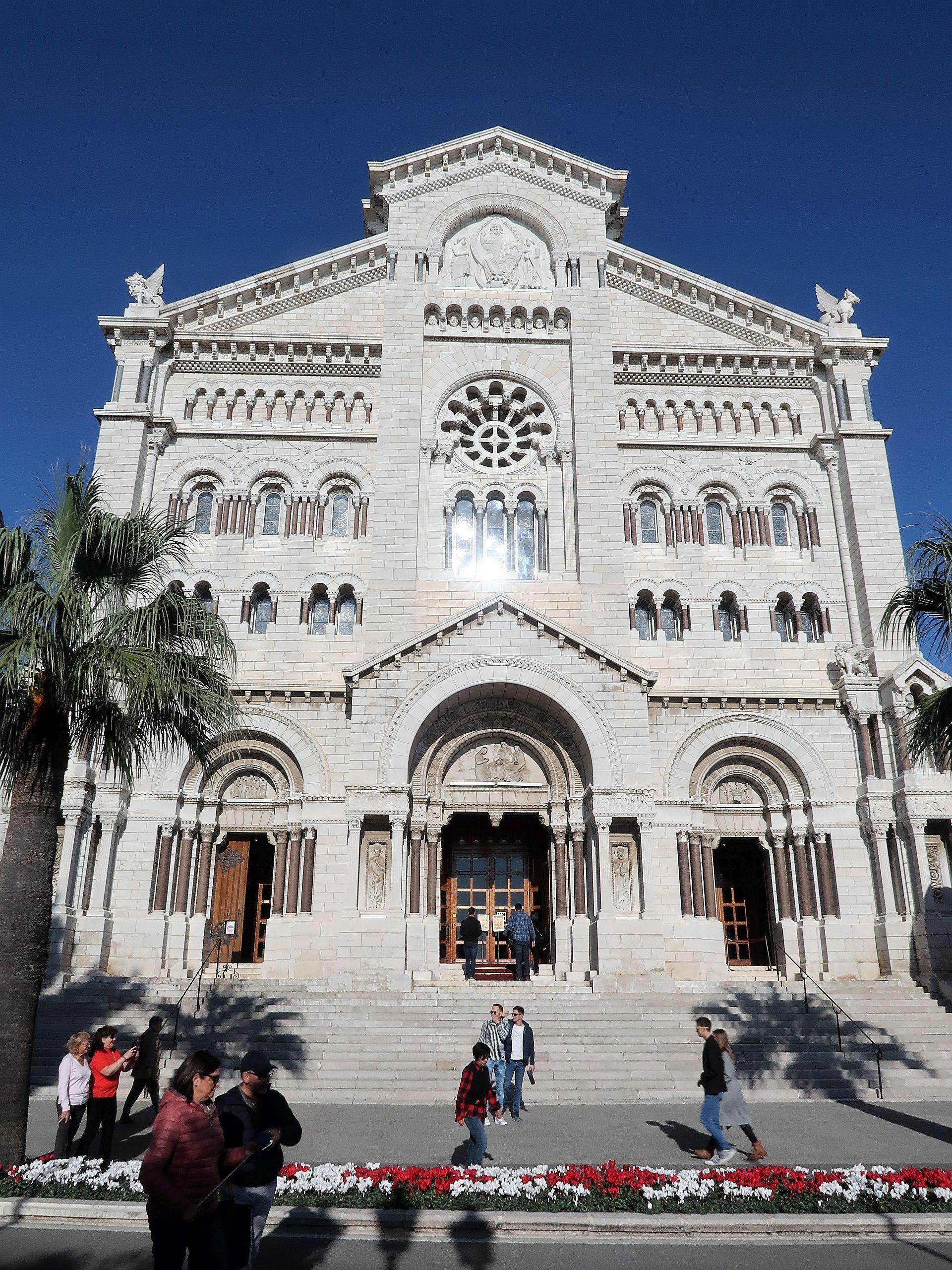 Kirche in der Altstadt von Monte Carlo